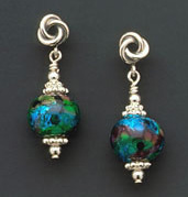 Ocean Depths - Earrings