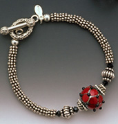 Burgundy - Bracelet