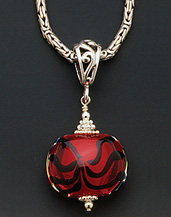Red Hot Mama - Necklace