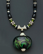 Winter Moss - Necklace