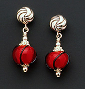 Red Hot Mama - Earrings