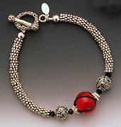 Red Hot Mama - Bali Bracelet