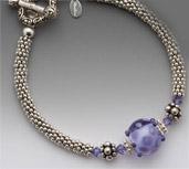 Lilac Ice Bracelet